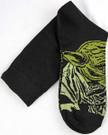 Star Wars Yoda Top of Foot Men's Crew Socks Shoe Size 6-12