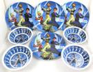 Star Wars Clone Wars Set of 8 Plastic Bowls & Plates