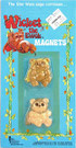 1983 Star Wars Ewoks 2 Pack of Magnets Wicket, Princess Kneesaa
