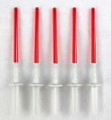 Star Wars Bakery Crafts 5 Red Lightsaber Cake Decorating Picks