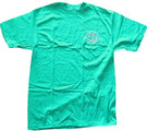 1987 Star Wars 10th Anniversary Logo Blue/Green Shirt Size L