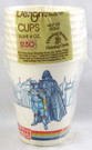 1980 Star Wars ESB Pack of 8 Party Cups Boba Fett Darth Vader