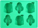 Star Wars Boba Fett Ice Cube Tray / Candy Mold