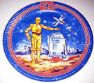 1978 Star Wars 9 inch Single paper plate