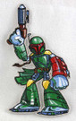 Star Wars Boba Fett Cartoon Art Embroidered Patch