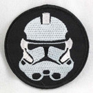 Star Wars Clone Trooper Head Embroidered Patch
