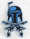 Star Wars Jango Fett Pistols Embroidered Patch