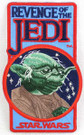Star Wars Revenge of the Jedi Yoda Embroidered Patch