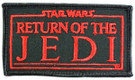 1983 Star Wars ROTJ Logo Rectangular Embroidered Patch