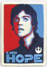 Star Wars Luke Skywalker A New Hope Embroidered Patch