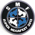 Star Wars 2013 Super Megafest Imperial Logo Embroidered Patch