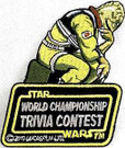 Star Wars 2010 World Trivia Contest Bossk Embroidered Patch