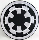 Star Wars Imperial Logo Embroidered Patch Large 10 inches