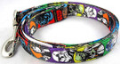 "Star Wars Characters (Yoda, Vader) 6 Foot Pet / Dog Leash 1"" Width"