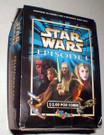 Star Wars Mexico Ep1 Imagics Stickers empty display box, shows wear