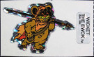 1983 Star Wars ROTJ Vending Machine Prism Wicket Sticker