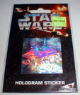 Star Wars A.H. Prismatic B-Wing hologram sticker, sealed