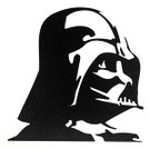 Star Wars Darth Vader Profile Black Vinyl Window Decal