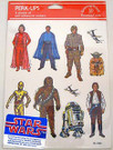 1980 Star Wars ESB Perk Up Stickers Leia, Luke, Yoda