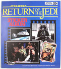 1983 Star Wars ROTJ Topps Sticker Album Unused