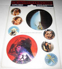 1983 Star Wars Germany Sticker Pack ROTJ Poster Art scenes, sealed