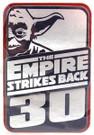 "Star Wars Yoda ESB 30th Anniversary 3D Chipboard Sticker 2.5x3.75"""
