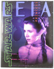 Star Wars Princess Leia Glossy School Folder Unused