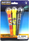 Star Wars Angry Birds 3 Pack of Markers with Roller Stampers