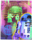 Star Wars R2-D2 Glossy School Folder Unused