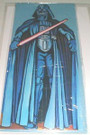 "1978 Star Wars Darth Vader ""Happy Birthday"" Die Cut Card, Sealed"