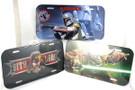 Star Wars Set of 3 Vader, Fett, & Yoda License Plate Cover Tins