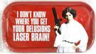 Star Wars Princess Leia Metal Tin Magnet Sign