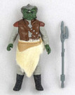 1983 Star Wars Klaatu Loose Action Figure C-9 Complete