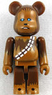 Star Wars Medicom Chewbacca Bearbrick Mini Figure