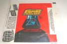 1980 Star Wars Topps ESB Series 1 Empty Wax Wrapper w/press sheet ad