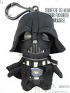 "Star Wars Mini 4"" Talking Plush Darth Vader Clip-On"