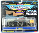 Star Wars Micro Machines 3 Pack Vll w/Sail Barge, Speeder Bike