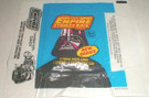 1980 Star Wars Topps ESB Series 2 Empty Wax Wrapper w/candy ad