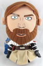 Star Wars Clone Wars Super Deformed Plush Obi Wan Toy 8""