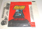 1980 Star Wars Topps ESB Series 1 Empty Wax Wrapper w/candy ad