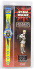 Star Wars Episode 1 Anakin Skywalker Flip Top Lid Watch, Sealed