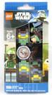 Star Wars Lego Boba Fett Watch w/ Mini Figure