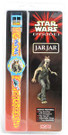 Star Wars Episode 1 Jar Jar Flip Top Lid Watch, Sealed