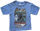 Star Wars Kids Millennium Falcon & Characters Blue T-Shirt Size XL