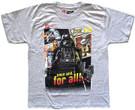 Star Wars Kids Lego Darth Vader Crush the Jedi Grey T-Shirt Size L (14)