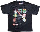 Star Wars Kids Lego Darth Vader & Character Circles Black T-Shirt Size M (10/12)