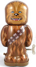 Star Wars Chewbacca Metal Tin Wind-Up Toy Robot Figure 7.5""