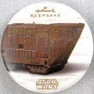 2014 Star Wars SD Comic Con Hallmark Sandcrawler Pin/Button