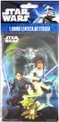 Star Wars Clone Wars Anakin, Yoda, Obi Wan Jumbo Lenticular Sticker