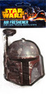Star Wars Boba Fett Head Air Freshener Pine Scent